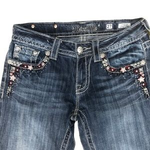 RED WHITE BLUE MISS ME JEANS    GG3